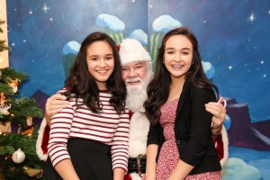 Santa with kids #2